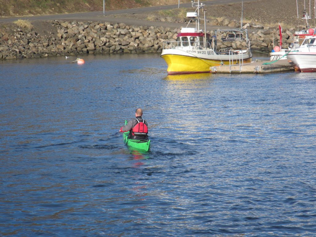 Test run in Grenivík Harbor