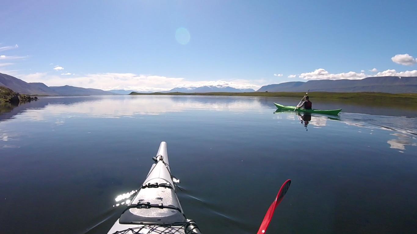 Kayak From Land to Sea
